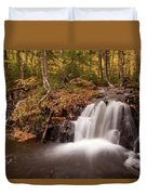 Gully Lake Cascades #1 Duvet Cover