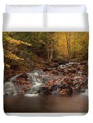 Gully Lake Trail Cascades #2 Duvet Cover