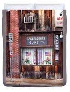 Johnson City Tennessee - Gun Shop Duvet Cover