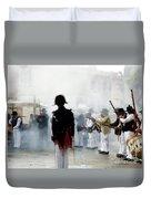 Gun Smoke Duvet Cover