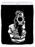 Gunman T-shirt Duvet Cover