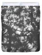 Gunmetal Grey Shadows -  Duvet Cover