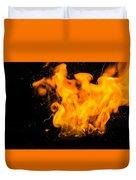 Gunpowder Flames Duvet Cover