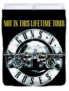 Guns And Roses Logo1 2017 Duvet Cover