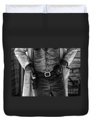Gunslinger Tombstone Arizona Duvet Cover