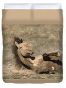 Gunsmoke Dustbath Duvet Cover
