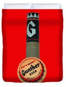 Gunther Beer Duvet Cover