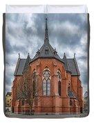 Gustav Adolf Church Facade Duvet Cover