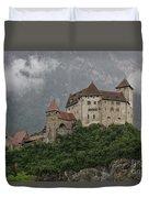 Gutenberg Castle Duvet Cover