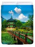 Gyeongbokgung Palace Duvet Cover