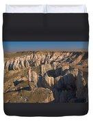 Gypsum Cliffs Duvet Cover