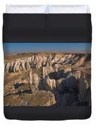 Gypsum Cliffs Duvet Cover
