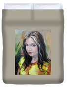 Gypsy Girl Duvet Cover