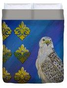 Gyr Falcon Duvet Cover