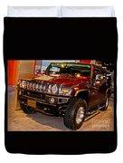 H2 Hummer Duvet Cover