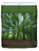 Haagse Bos. Oil Painting Effect. Duvet Cover