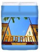 Habana Condos Duvet Cover