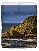 Haceta Head Light 2 Duvet Cover