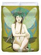 Hada Amarilla Duvet Cover