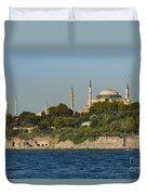 Hagia Sophia And Blue Mosque Duvet Cover