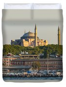 Hagia Sophia On The Bosphorus  Duvet Cover