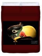 Kolus Mask Kwakwawak Mask 7 Duvet Cover
