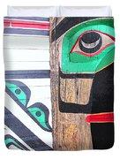 Haida One Duvet Cover