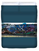 Haight Ashbury Mural Duvet Cover