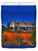Hainesville Barn Color Duvet Cover