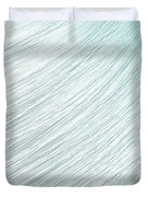 Hair Blowing Closeup Duvet Cover