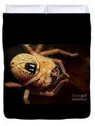Hairy Spider Duvet Cover