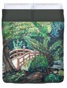 Hakone Garden Duvet Cover