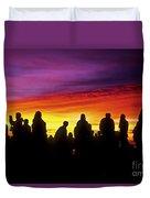 Haleakala Color Show Duvet Cover