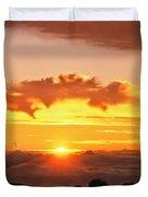 Haleakala National Park Memories Duvet Cover