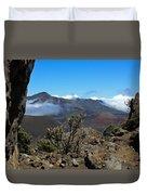 Haleakala Overlook Duvet Cover