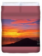Haleakala Sunrise Colors IIi Duvet Cover