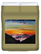 Haleakala Volcano Sunrise In Maui      101 Duvet Cover