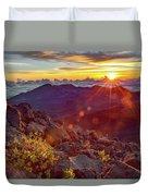Haleakala Sunrise Duvet Cover
