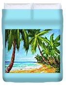 Haleiwa Beach #369 Duvet Cover