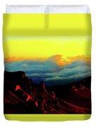 Halekala Sunrise Duvet Cover