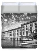 Hales Bar Dam B W Tennessee Valley Authority Tennessee River Art Duvet Cover
