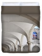 Half Arched Portal Of The Minorite Monastery Cloister Attached T Duvet Cover