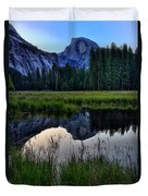 Half Dome At Sunrise Duvet Cover