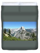 Half Dome From Inspiration Point Duvet Cover