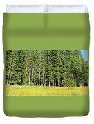 Half Dome Meadow Duvet Cover