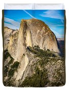 Half Dome Portrait Duvet Cover