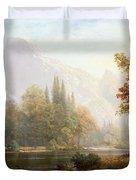 Half Dome Yosemite Duvet Cover