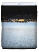 Half Moon Bay Duvet Cover