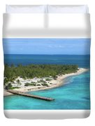 Half Moon Cay Duvet Cover
