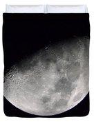Half Moon Number 5 Duvet Cover